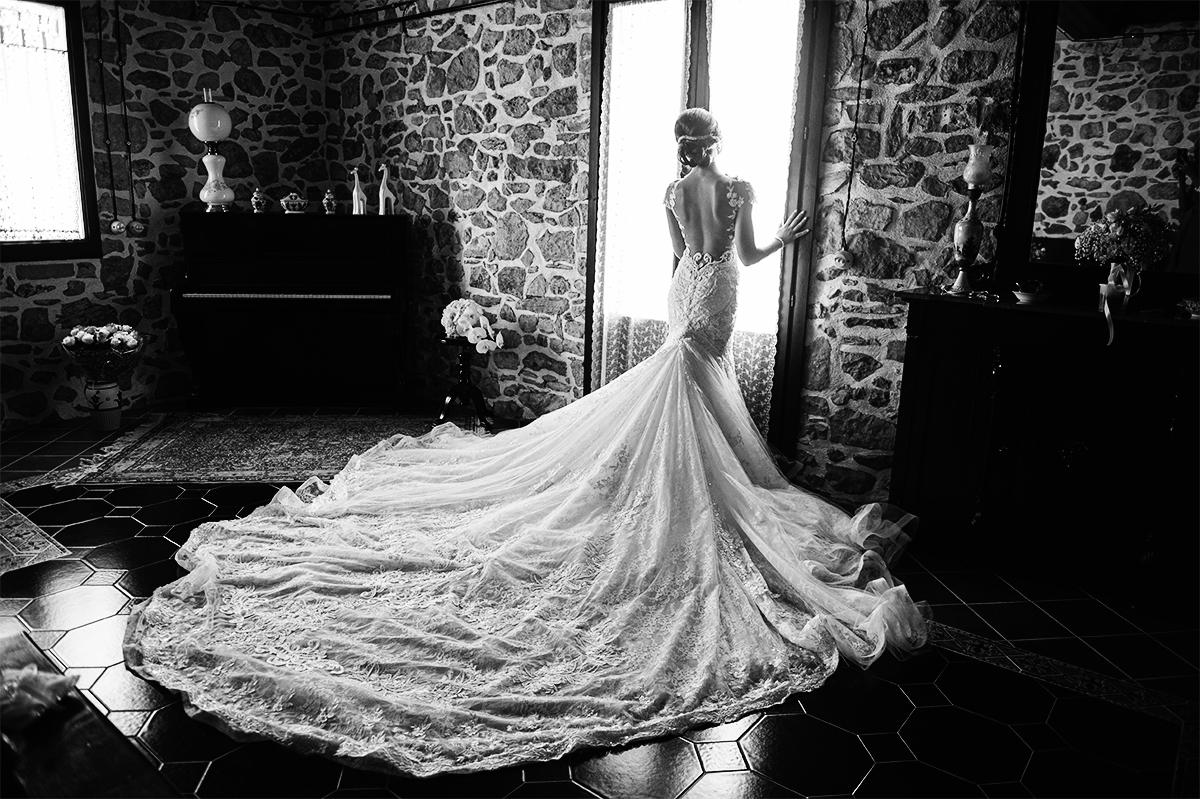 L'abito da sposa del matrimonio in sicilia