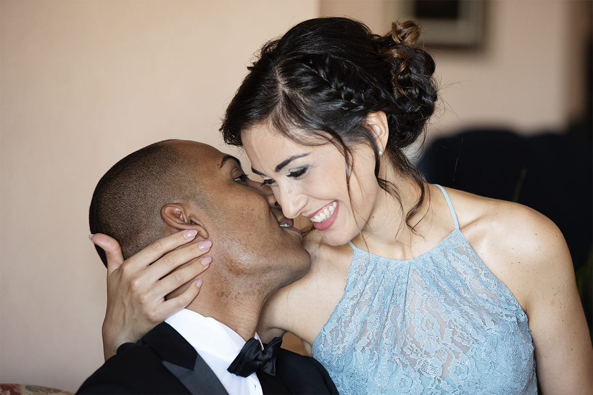 foto degli invitati del matrimonio in Sicilia